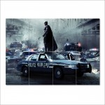 Batman Christian Bale  Block Giant Wall Art Poster