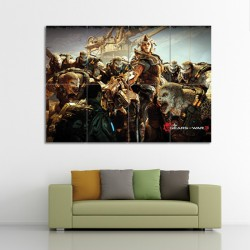 Gears of War 3 Video Games Block Giant Wall Art Poster (P-0229)