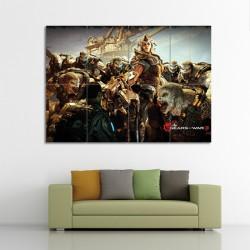 โปสเตอร์ ขนาดใหญ่ เกมส์ Gears of War 3 เกียร์ออฟวอร์  (P-0229)