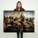 Gears of War 3 Video Games Block Giant Wall Art Poster