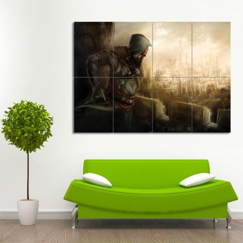โปสเตอร์ ขนาดใหญ่ เกมส์ Assassin's Creed อัสแซสซินส์ ครีด