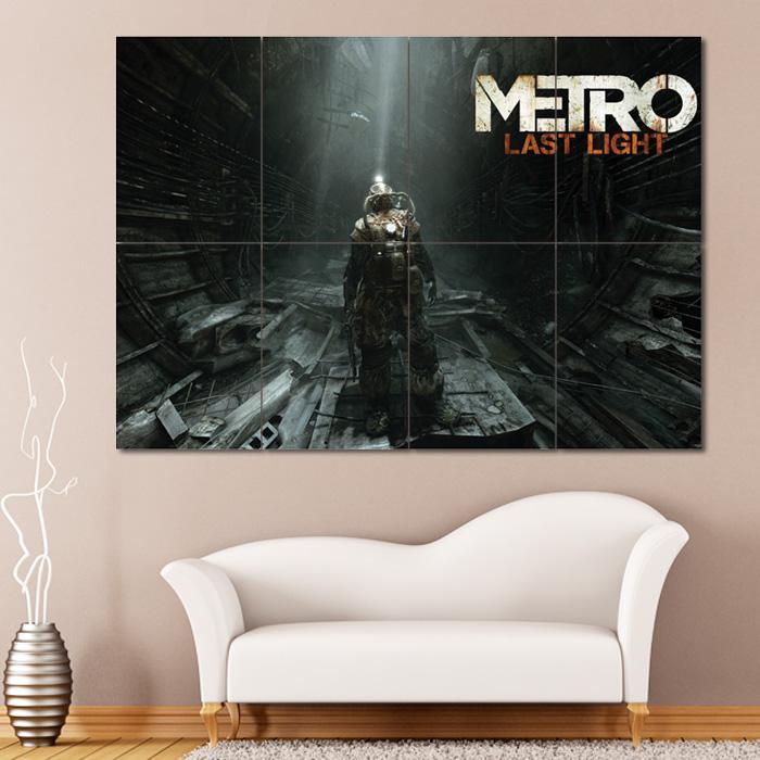 Metro 2033 Xbox 360 Giant Wall Art Poster Print