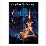 Star Wars Hildebrandt Block Giant Wall Art Poster