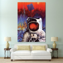 Spaceman Ron Walotsky Block Giant Wall Art Poster (P-0269)