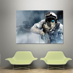 Ghost Recon Future Soldier  Block Giant Wall Art Poster (P-0297)