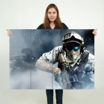 Ghost Recon Future Soldier Block Giant Wall Art Poster