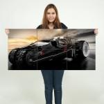 โปสเตอร์ ขนาดใหญ่ ภาพรถ Mass Effect Mobile Car
