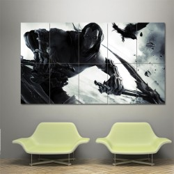 Darksiders Video Games  Block Giant Wall Art Poster (P-0302)