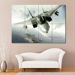 Ace Combat 5 The Unsung War Block Giant Wall Art Poster (P-0305)