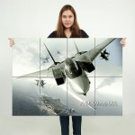 Ace Combat 5 The Unsung War  Block Giant Wall Art Poster