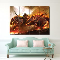 Guild Wars 2 Video Games Block Giant Wall Art Poster (P-0315)
