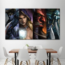 DotA Allstars WarCraft III Block Giant Wall Art Poster (P-0327)