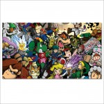 Super Smash Bros Video Games  Block Giant Wall Art Poster