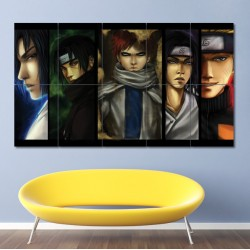 Naruto Manga series Block Giant Wall Art Poster (P-0336)