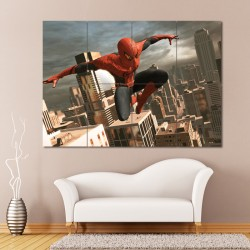 Spiderman Block Giant Wall Art Poster (P-0343)