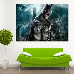 Batman Arkham Asylum Game Block Giant Wall Art Poster (P-0358)