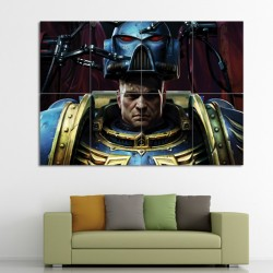Space Marines Warhammer 40,000 Block Giant Wall Art Poster (P-0359)