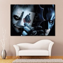 Batman vs Joker Wand-Kunstdruck Riesenposter (P-0361)