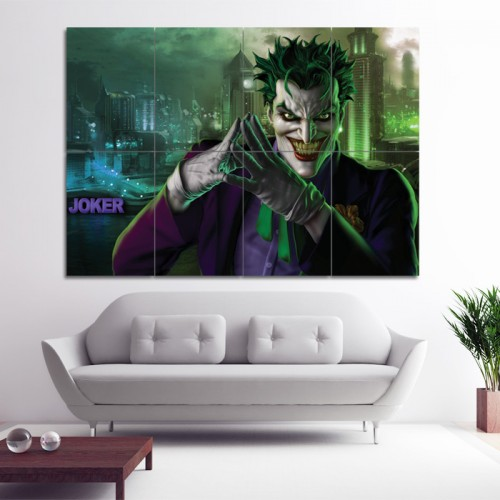 The Joker Batman Block Giant Wall Art Poster