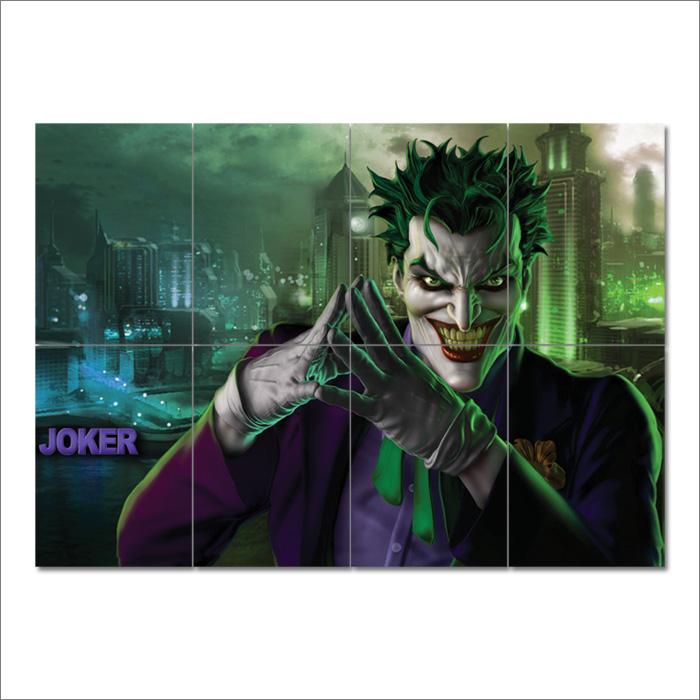 The Joker Batman Block Giant Wall Art Poster