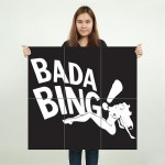 The Sopranos Bada Bing Club Block Giant Wall Art Poster