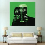 Star Wars Darth Vader Guinness Block Giant Wall Art Poster