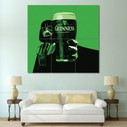 Darth Vader Guinness Block Giant Wall Art Poster (P-0366)