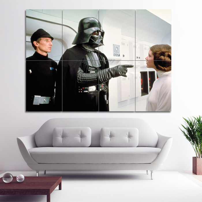 Darth Vader Star Wars Giant Poster Art Print