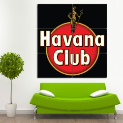 Havana Club Block Giant Wall Art Poster (P-0369)