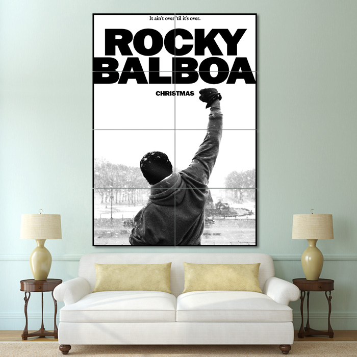 Giant Wall Art balboa boxing block giant wall art poster