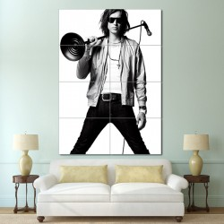 Julian Casablancas Block Giant Wall Art Poster (P-0377)