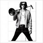 Julian Casablancas The Strokes Block Giant Wall Art Poster