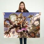 โปสเตอร์ ขนาดใหญ่  เกมส์ Final Fantasy XIII ไฟนอลแฟนตาซี