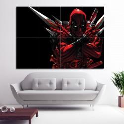Deadpool 2 Block Giant Wall Art Poster (P-0385)