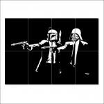 โปสเตอร์ ขนาดใหญ่ หนัง Star Wars Pulp Fiction