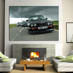 M3 BMW E30 Block Giant Wall Art Poster (P-0394)