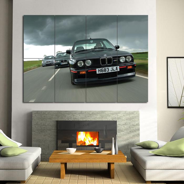 BMW Car Badge Giant Wall Art Poster Print