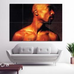 2PAC  Tupac Shakur Block Giant Wall Art Poster (P-0398)
