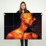 2PAC  Tupac Shakur Block Giant Wall Art Poster