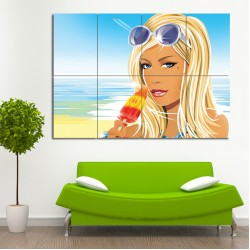 Hed Kandi Block Giant Wall Art Poster (P-0404)