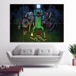 Minecraft #1 Block Giant Wall Art Poster (P-0407)
