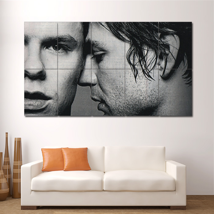 & Queer As Folk Gay TV Block Giant Wall Art Poster