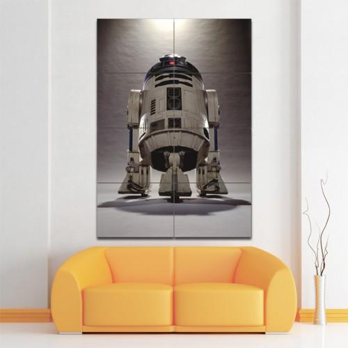 โปสเตอร์ ขนาดใหญ่ หนัง สตาร์วอร์ Star Wars R2D2 Droid
