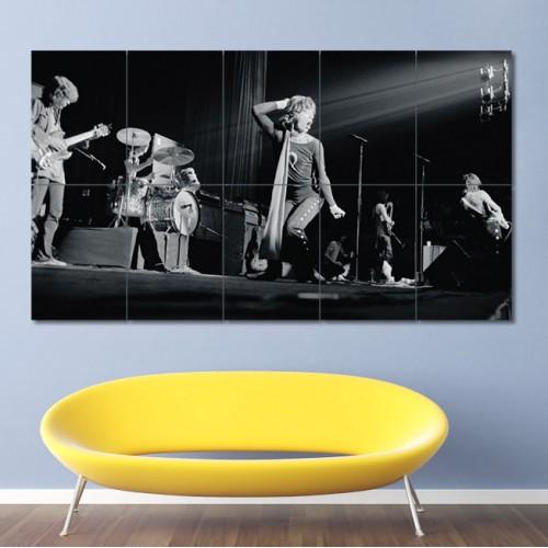 โปสเตอร์ ขนาดใหญ่ วงดนตรี Rolling Stones 1969 โรลลิงสโตน