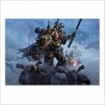 โปสเตอร์ ขนาดใหญ่  เกมส์ Dawn Of War Chaos Rising