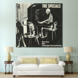 The Specials 2 Tone Ghost Town Block Giant Wall Art Poster (P-0443)
