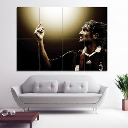 Paolo Maldini Block Giant Wall Art Poster (P-0445)