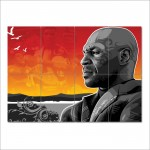 Mike Tyson Wand-Kunstdruck Riesenposter
