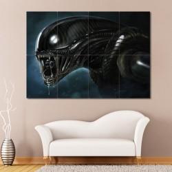 โปสเตอร์ ขนาดใหญ่ หนัง Alien H R Giger Huge เอเลียน (P-0452)