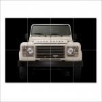 โปสเตอร์ ขนาดใหญ่  ภาพรถ Land Rover Defender แลนด์โรเวอร์